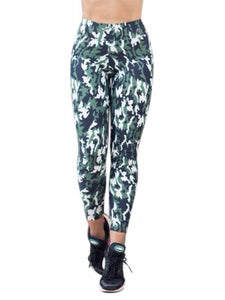 Camouflage Prints Sports Legging