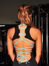 Crossing Back Straps One Piece Jumpsuit