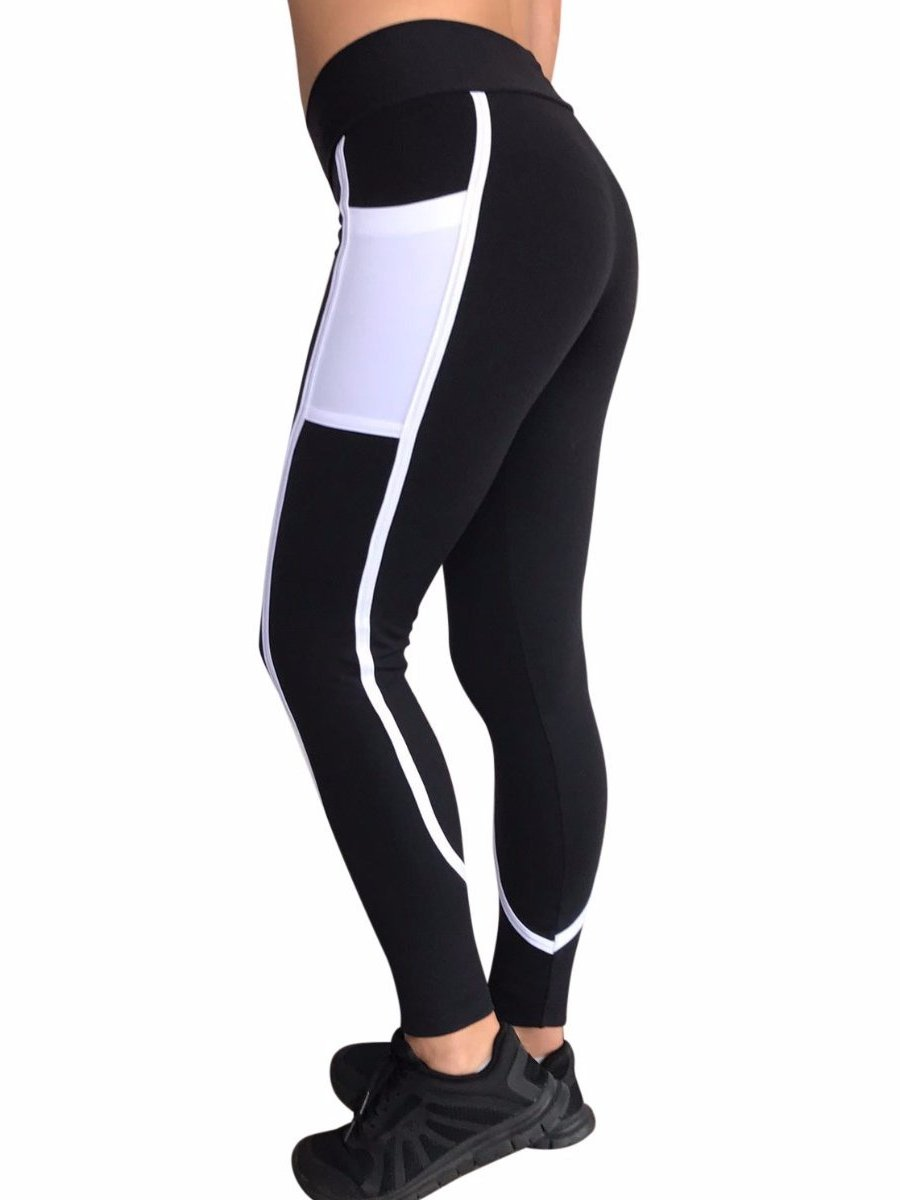 Shaping Lines Pocket Full Length Leggings