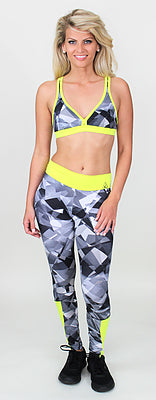 Kelly Low Cut Glassy Neon Top