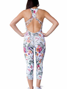 Fall Obsession Workout Unitard Jumpsuit