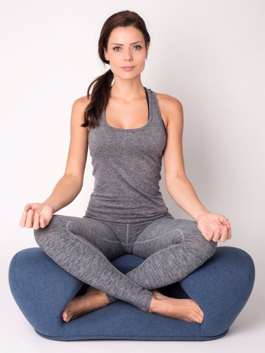 Alexia Meditation Seat - Fabric - Zen Yoga Chair for Home or Office