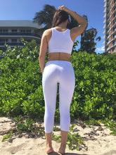 Side Lines Capri Legging