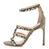 Love Story Embossed Nappa Sandals