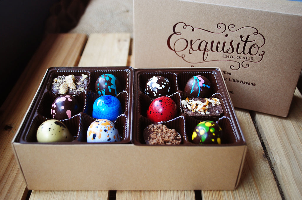 Assorted Truffle Box: Twenty-Four Truffles