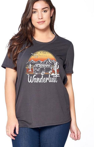 Wanderlust T-Shirt Plus