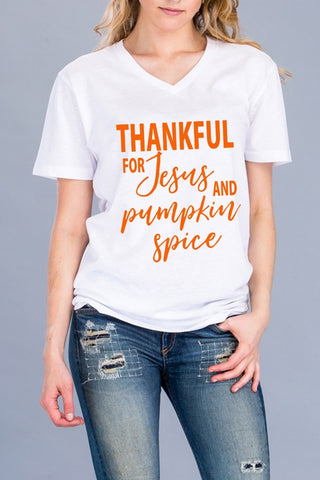 Jesus and Pumpkin Spice T-Shirt
