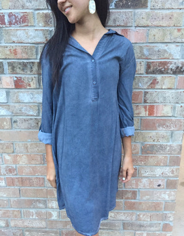 Denim Dress - Aunt Lillie Bells