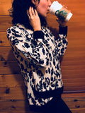 Black and White Leopard Top - Aunt Lillie Bells