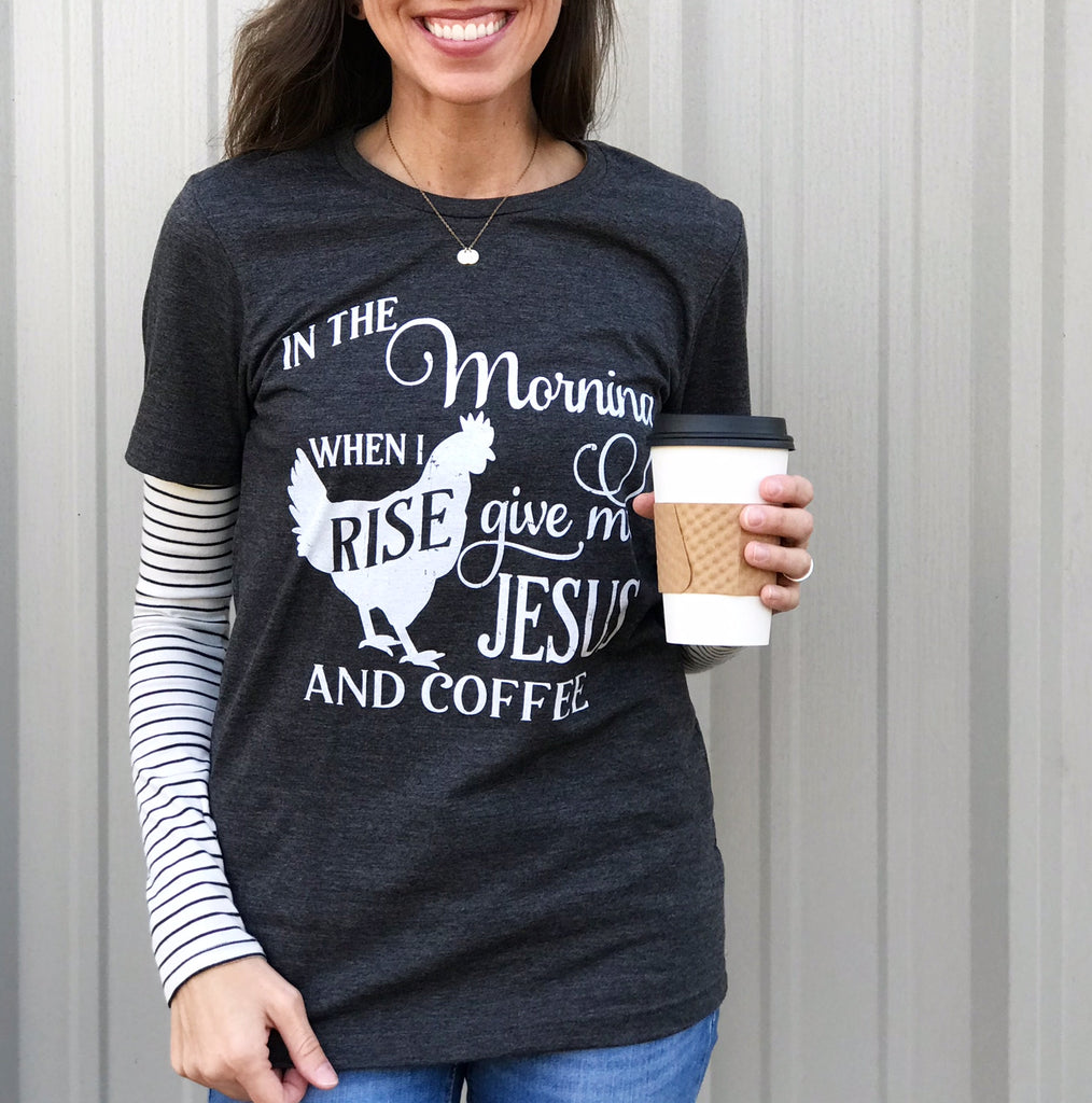 When I Rise Tee Aunt Lillie Bells