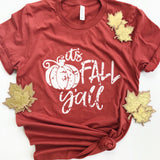It's Fall Y'all T-shirt - Aunt Lillie Bells
