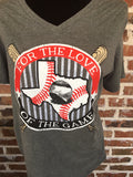 For the Love of the Game T-Shirt - Aunt Lillie Bells