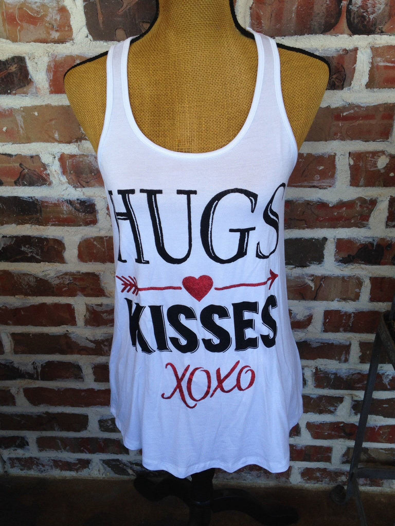 Hugs And Kisses Tank - Aunt Lillie Bells