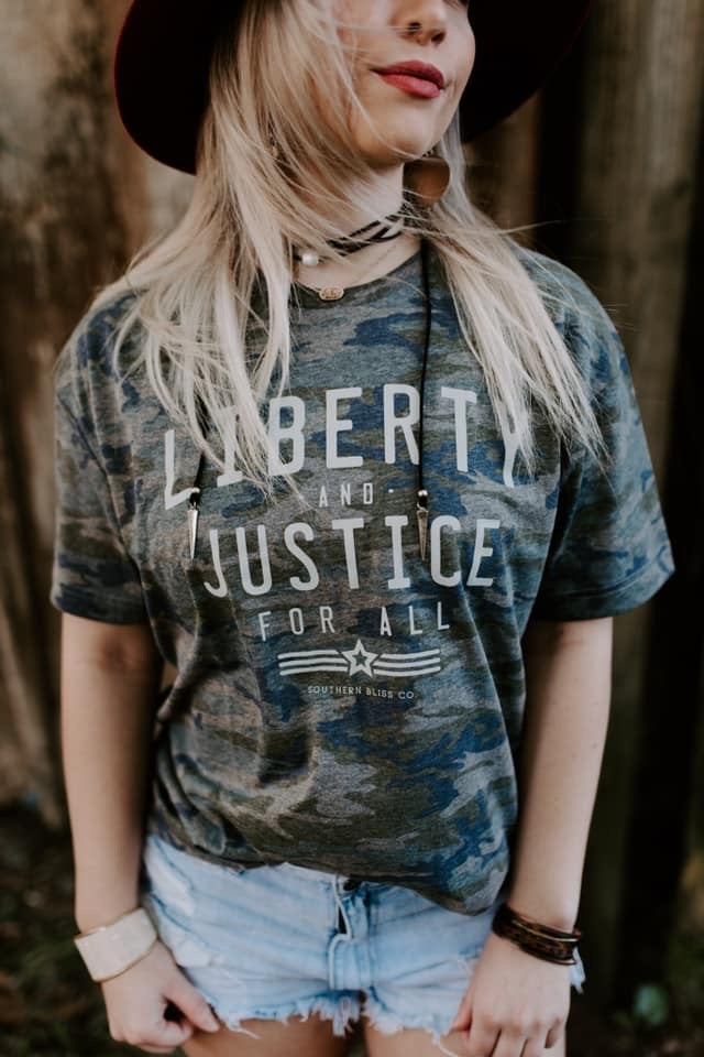 Liberty and Justice Tee