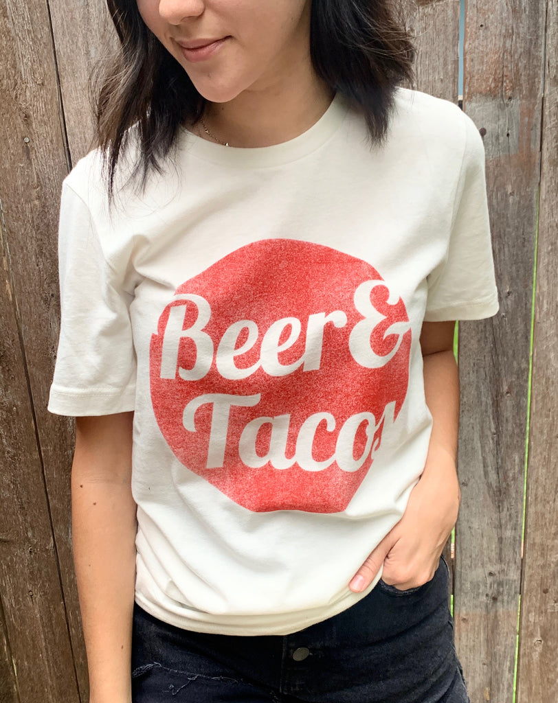 beer and tacos tee