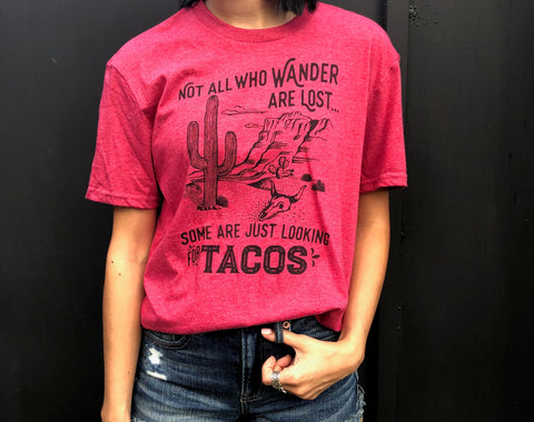 Not All Who Wander T-Shirt