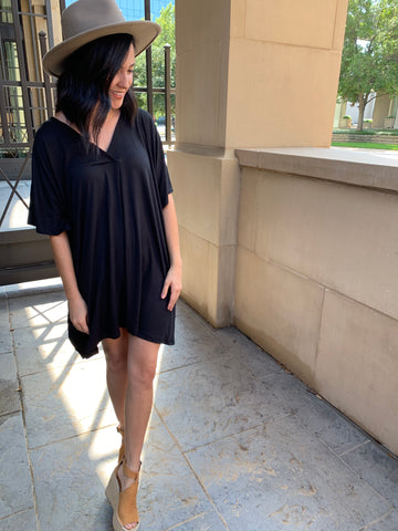 little black dress in our texas boutique