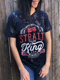 Strait from the King Tee