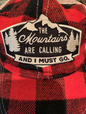 The Mountains are Calling Trucker Cap