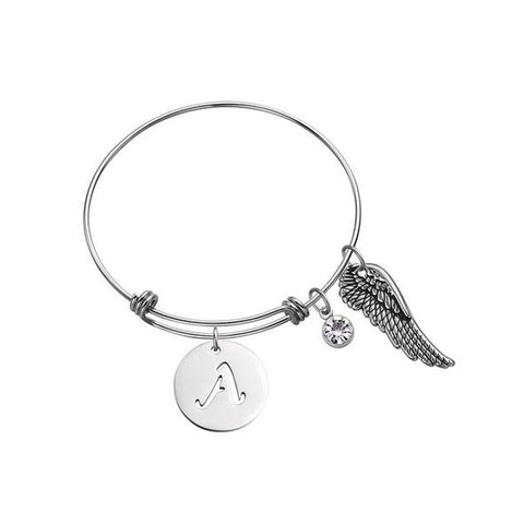 angel wing charms for bracelets