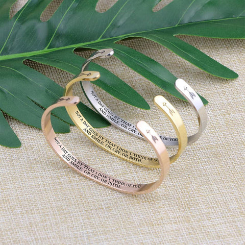 bracelet with meaningful words