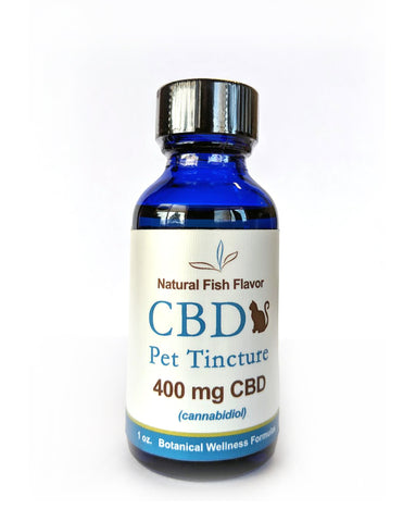 CBD Pet Tincture - Fish Flavor