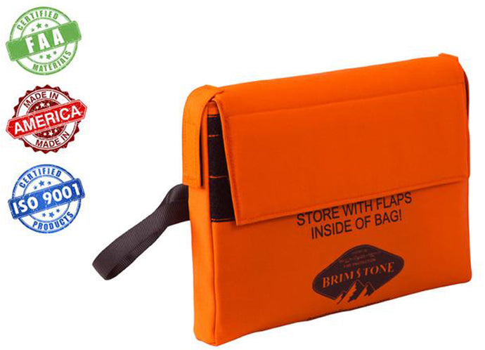 Heavy Duty Battery Fire Containment Bag - Small (Tablet/ Phone) - Preventer™ HD Edition- 18,000 mAh Tested