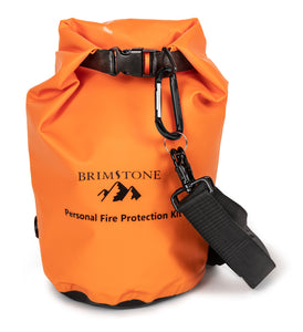 Personal Fire Protection Kit PPE- dry bag stored