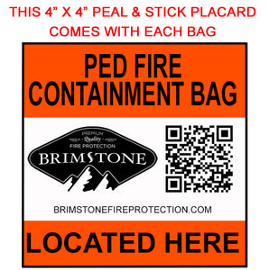 Heavy Duty Battery Explosion & Fire Containment Bag - Large (Laptop) - Preventer™ HD Edition- 20,000 mAh Tested