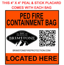 SM-HD Lithium-ion Battery Fire Containment Bag 1
