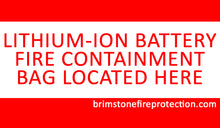 Battery Fire Containment Bag - Small (Tablet-Phone)  - Preventer™ Edition- 10,000 mAh Tested