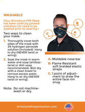 Flame-Ready FPX Mask - Flame & Smoke Protection
