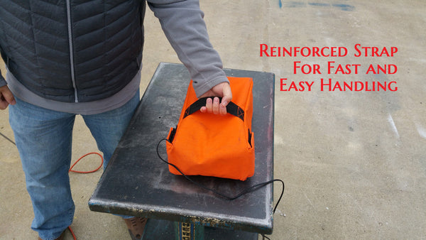 26.5 Ah Battery Explosion & Fire Containment Bag - Hospital/ Military Grade