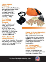 Wildfire Ready PPE / Personal Fire Protection Kit