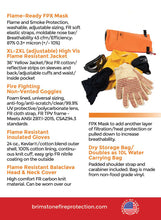 Personal Fire Protection Kit PPE Plus- red specs
