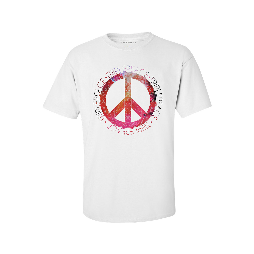 TriplePeace Circle Red