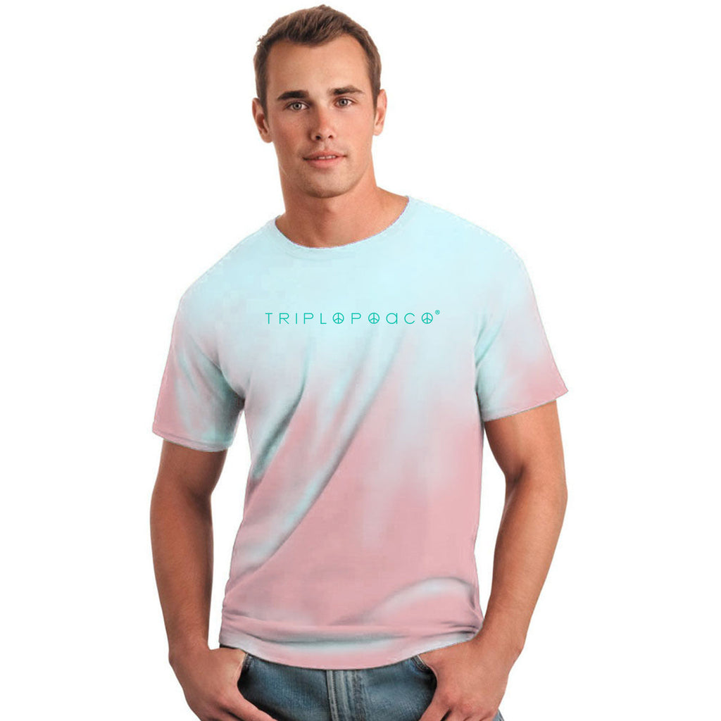 Color Changing Tee Pink-Blue