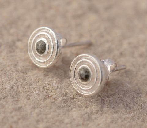 Preseli Bluestone Stonehenge Circle Earrings