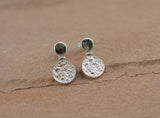 Preseli Bluestone Harvest Moon Stud Earrings