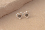 Preseli Bluestone Heart Earrings