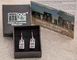 Preseli Bluestone Stonehenge Full Moon Drop Earrings