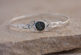 Preseli Bluestone Trinity knot bangle