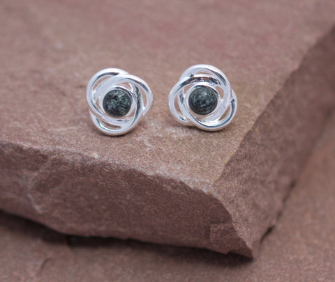Preseli Bluestone Trinity stud earrings