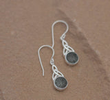Preseli Bluestone Trinity Knot Earrings