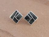 Preseli Bluestone Stonehenge Square Stud Earrings