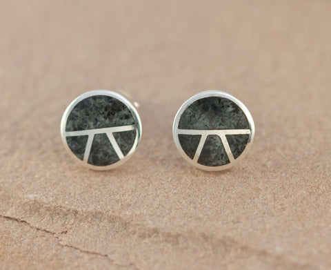 Preseli Bluestone Stonehenge Round stud Earrings