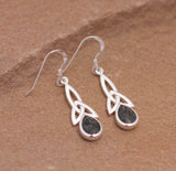 Preseli Bluestone Trinity drop earrings