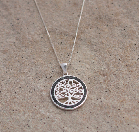 Preseli Bluestone Circle Tree of Life pendant