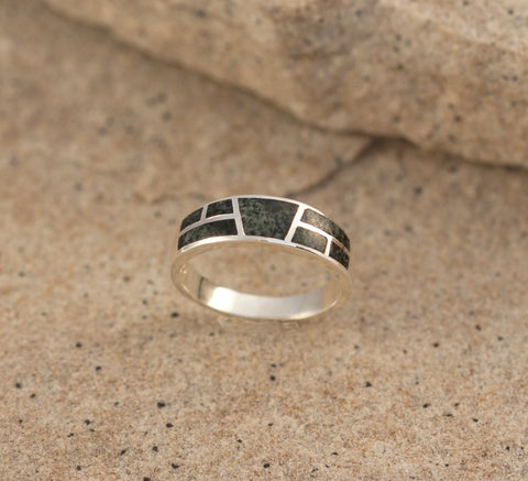 Preseli Bluestone Stonehenge Ring medium