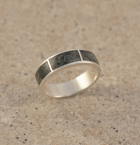 Preseli Bluestone Three pillar ring